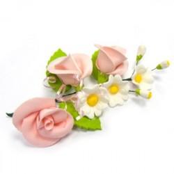 Букет Розовые розы, 1шт