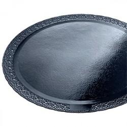Подложка черная Леонардо  28см