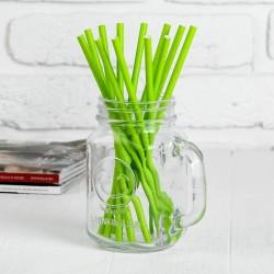 Трубочки зелёные, 12шт