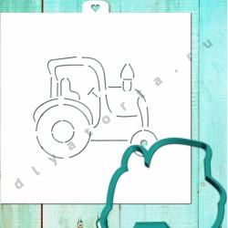 Вырубка Трактор