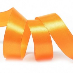 Лента атласная оранжевая №...