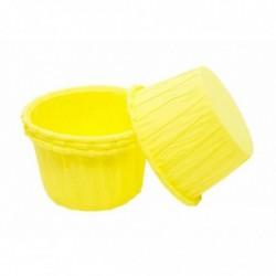 Форма Маффин желтый, 1шт