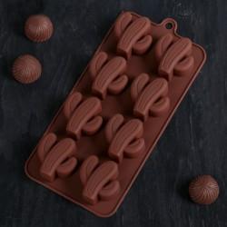 Форма для шоколада «Кактус»