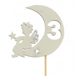 Топпер «Ангел» цифра 3