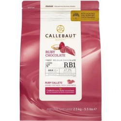 Шоколад Callebaut Ruby RB1...