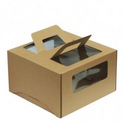 Коробка для торта 26×26×20...