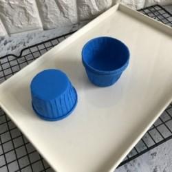 Форма Маффин синий, 1шт