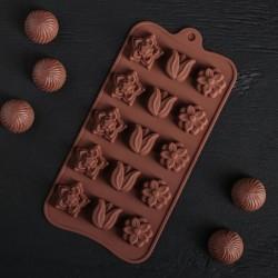 """Форма для шоколада """"Поляна"""""""