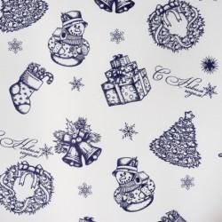Бумага «Новогодняя», 140×70