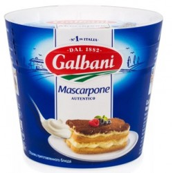 Маскарпоне Galbani 80%, 500г