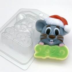 Пластиковая форма «Мышь в...