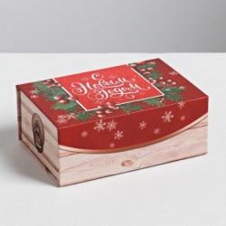 "Коробка для десертов ""Подарок"""