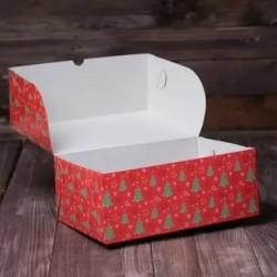 """Коробка для капкейков """"Елки..."""