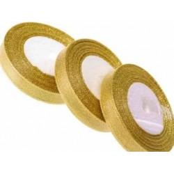Лента парча золотая 10мм