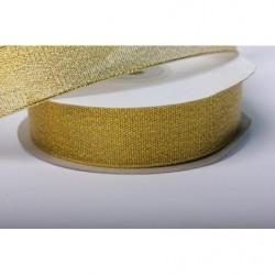 Лента парча золотая 25мм