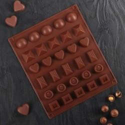 Форма для шоколада «Коробка...