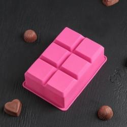 Форма для шоколада «Кубик»