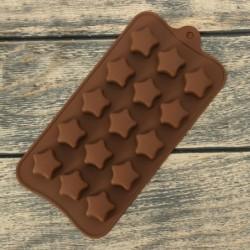 Форма для шоколада «Звездочки»