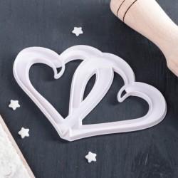 Выемка для мастики «Сердца»