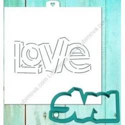Вырубка Love 3D