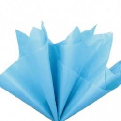 Бумага тишью голубая, 10...