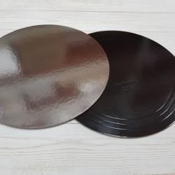 Подложка 3,2 28 черная/серебро