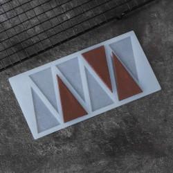 Мат для шоколада Треугольники