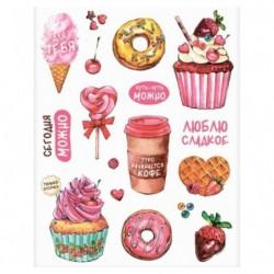 Наклейки «Люблю сладкое»
