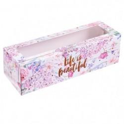 Коробка для макаронс «Life...