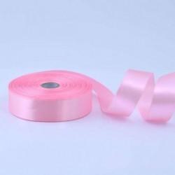 Лента атласная 25мм розовая...