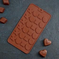 Форма для шоколада «Конфеты»