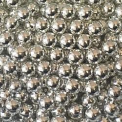 Посыпка шарики Серебро 7мм 80г