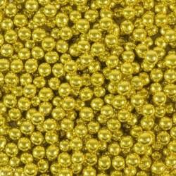 Посыпка шарики Золотые 6мм 80г