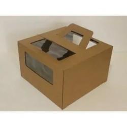 Коробка для торта сручками...