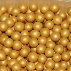 Посыпка шарики Золото...