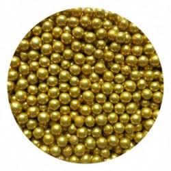 Посыпка шарики Золотые 3мм