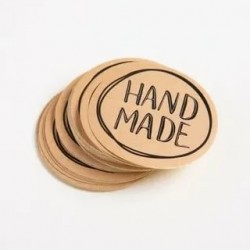 Наклейки «Hand made», 5шт