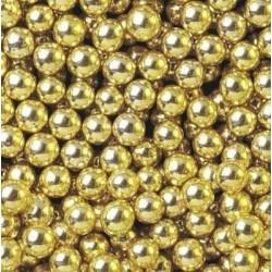 Посыпка шарики Золотые 7мм