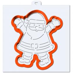 Вырубка Дед Мороз руки в...