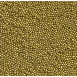 Посыпка шарики Золото 2мм 80г