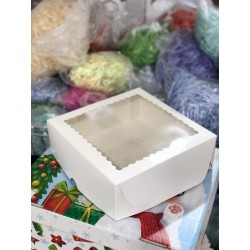 Коробка для зефира 20×20×7