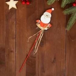 Декор напалочке Санта