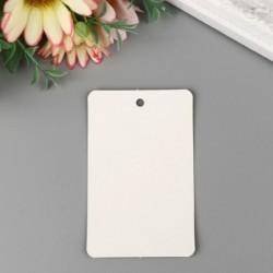Бирка Классика, белая 8×5см