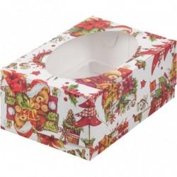 Коробка для капкейков «XMAS»
