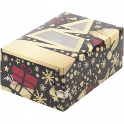 Коробка для капкейков «Ёлочка»