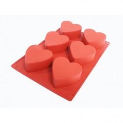Форма для выпечки «Сердца»,...