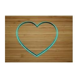 Вырубка Сердце простое 9м
