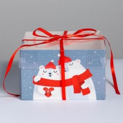 Коробка для капкейков «Любви»