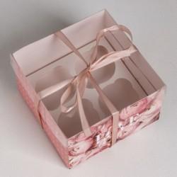 Коробка для капкейков «LOVE»