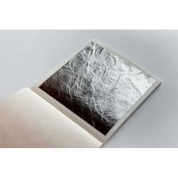 Пищевое серебро лист, 14×14